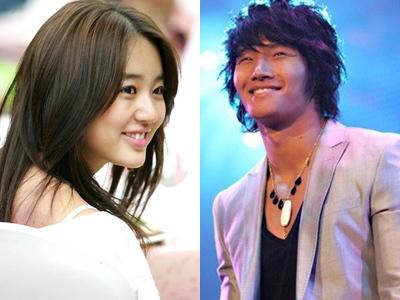 Yoon Eun Hye en un con... Yoon Eun Hye Kim Jong Kook Xman